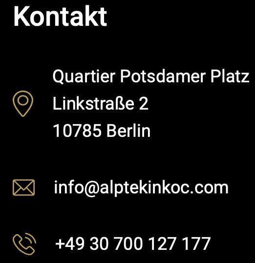 Bildschirmfoto Kontakt